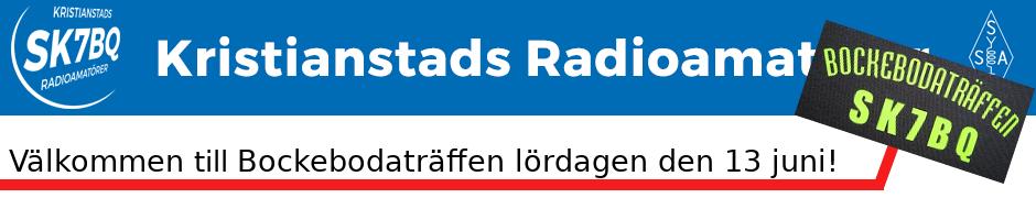 Kristianstads Radioamatörer - SK7BQ