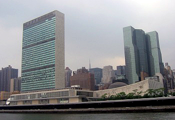 United Nations HQ New York City